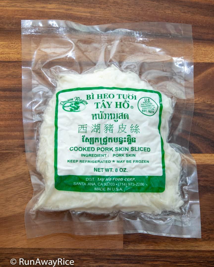 Shredded Pork Skin (Bi Heo) - Classic Vietnamese Recipe with