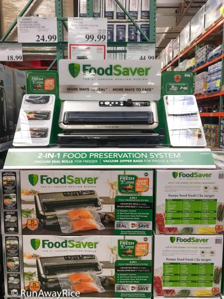 FoodSaver System - Best Deal at Costco | runwawyrice.com