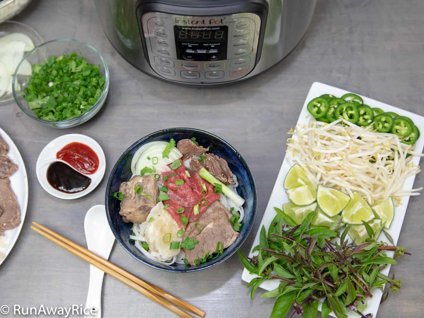 Instant Pot Beef Pho Vietnamese Beef Noodle Soup Recipe With Video
