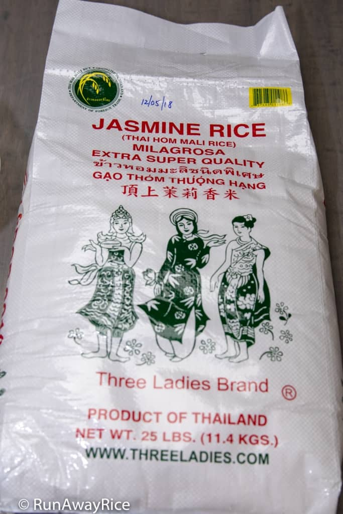 Perfect Instant Pot Jasmine White Rice - Three Ladies Brand | recipe from runawayrice.com