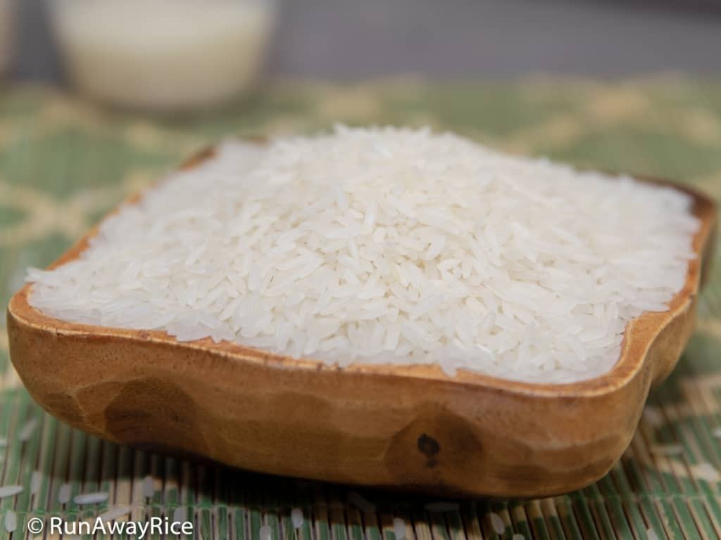 Perfect Instant Pot Jasmine White Rice - Just 5 Minutes Pressure Cook Time | recipe from runawayrice.com