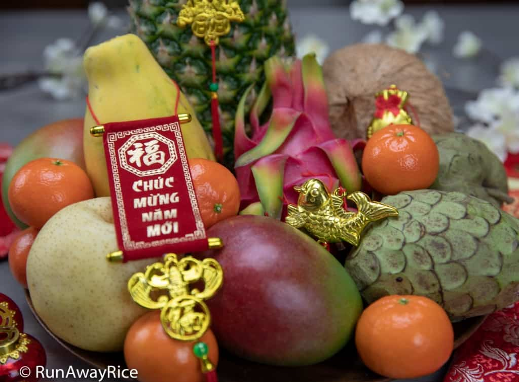 Fruits for Lunar New Year - How to Make a Gorgeous Fruit Plate! | runawayrice.com