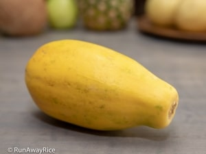 Fruits for Lunar New Year - Papaya | runawayrice.com