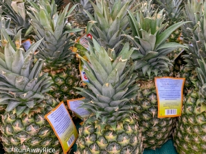 Fruits for Lunar New Year - Pineapples | runawayrice.com