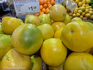 Fruits for Lunar New Year - Pink Pomelos | runawayrice.com