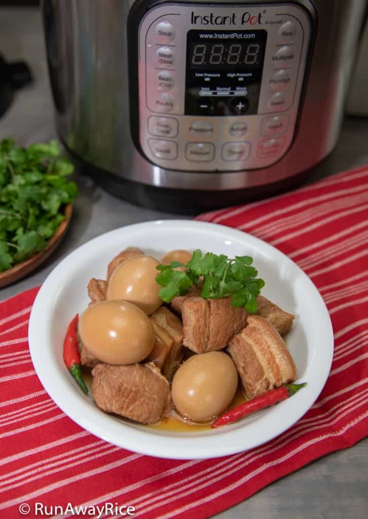 Instant Pot Caramelized Pork and Eggs (Thit Kho Trung) Just Like Mom's Recipe in Half the Time! | recipe from runawayrice.com