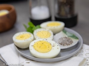 Instant Pot Hard Boiled Eggs - Best Eggs! 5-5-5 Method | recipe from runawayrice.com