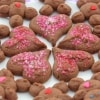 Valentine's Day Chocolate Shortbread Cookies | recipe from runawayrice.com