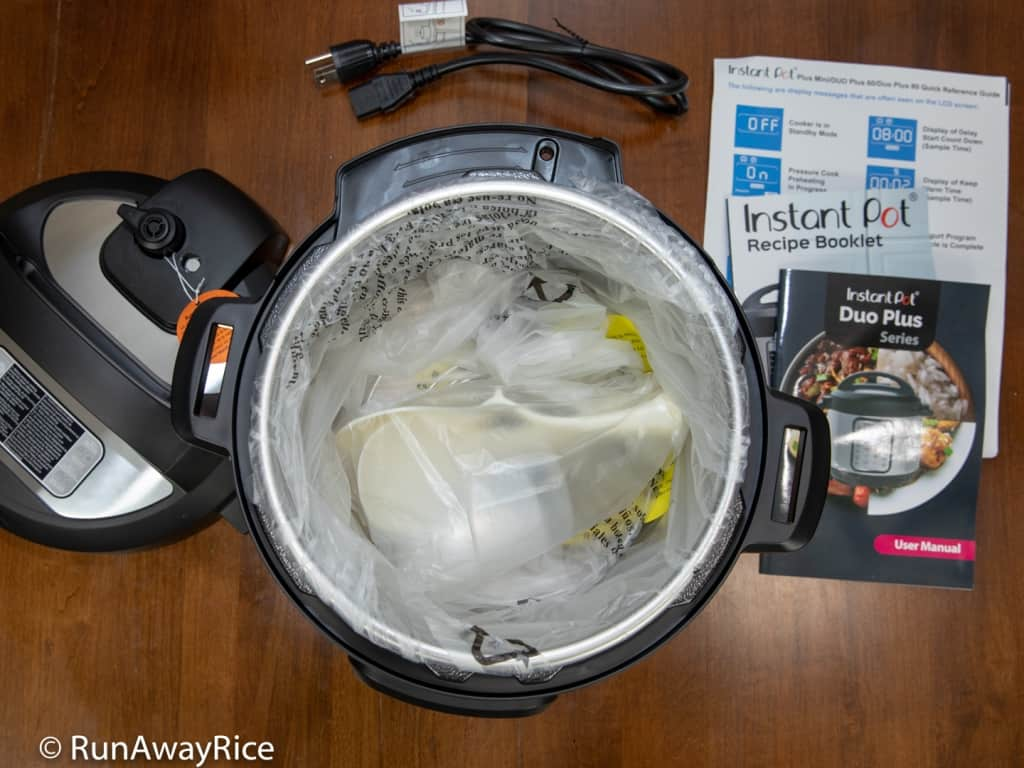 Instant Pot DUO Plus 60 - Unboxing the 6 Quart 9-in-1 Multi-Cooker | runawayrice.com